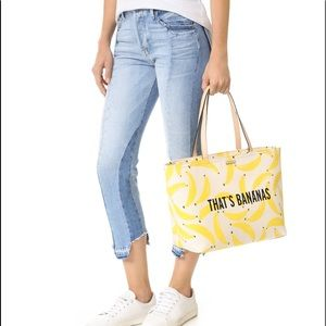 Kate Spade That's Bananas tote bag
